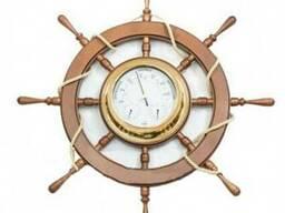 Часы в виде штурвала Код: МШ-7 Под заказ