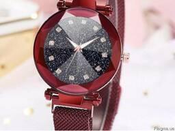 Часы женские Starry Sky Watch с магнитным ремешком водонепро
