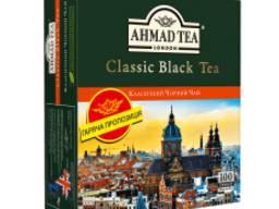 Чай Ahmad Classic Black Tea, черный, пакетики, 200 г