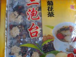 Чай Бабао с хризантемой Сань-Пао-Тай