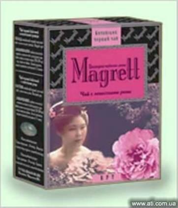 """Чай черный Индийский """"Magrett"""" Лепестки Розы"""