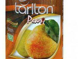 Чай черный листовой Тарлтон Pear с кусочками груши. ..