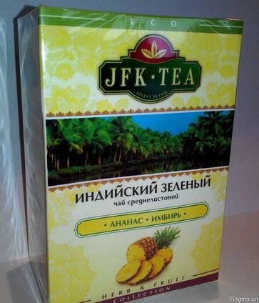 Чай Индийский зеленый с ананасом и имбирем