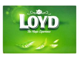 Чай в пакетиках пирамидках Loyd, липа, лимон и мед...