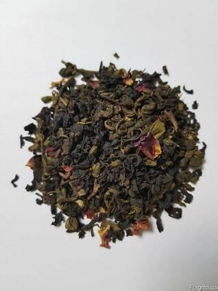 Чай Венецианская ночь весовой смесь зеленого и черного чая