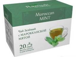 Чай зеленый RAMUK Moroccan с морокканской мятой
