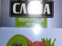 "Чай зеленый в пакетиках от ТМ ""ТРИ Слона ""Клубника+Киви"""