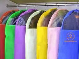 Чехлы для хранения одежды. Разноцветные из спанбонда ОПТ Хм