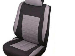 Чехлы на передние сиденья JX161079 Velour перед 6 еденицы BK/GY