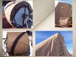 Чехлы на судовое оборудование - вьюшки, лебедки, брашпили, шторм-трапы и прочее