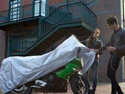 Чехол для мотоцикла непромокаемый 140 на 240 и 130 на 230 см