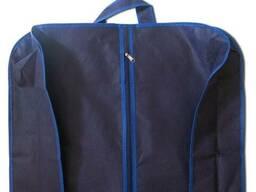 Чехол для объемной, верхней одежды с ручками 60х150х15 см Organize синий HCh-150-15. ..