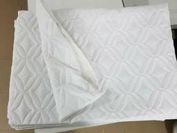 Чехол на подушку на змейке, белый, микрофибра