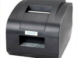 Чековый принтер с автообрезкой Xprinter XP-C58N 58мм USB