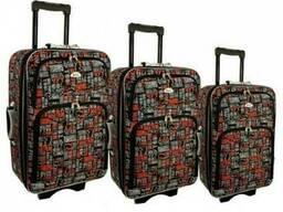 Чемодан сумка 773 набор 3 штуки kolor 10