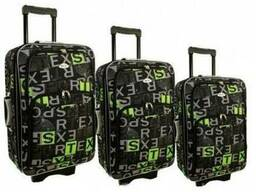 Чемодан сумка 773 набор 3 штуки kolor 8
