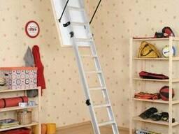 Чердачная лестница OMAN ALU PROFI EХTRA 120х70 см