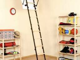 Чердачная лестница OMAN MINI TERMO металл/дерево 80х70 см