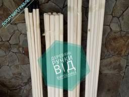 Черенки, деревяна ручки для лопат, граблей, тяпок, со