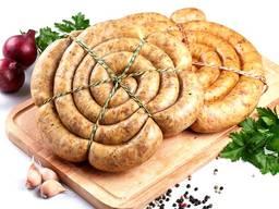 Черева свиные, натуральная оболочка для колбасы