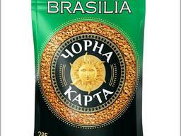 Черная карта Бразилия растворимый кофе 285 грамм в фольгированной упаковке