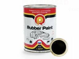 Черная матовая жидкая резина Rubber Paint