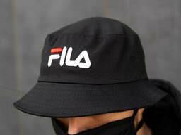 Черная панама FILA мужская (реплика)