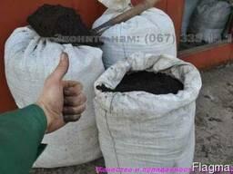 Чернозем Грунт плодородный в мешках Киевская область