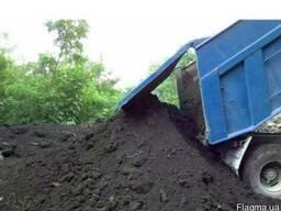 Чернозем плодородный, растительный, насыпью и в мешка