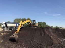 Суперплодородный Чернозём. Доставка от 5 до 30 тонн. Торф.