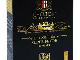 Черный цейлонский чай Chelton Super Pekoe Noble House 100 грамм