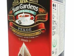 Черный чай в пирамидках Sun Gardens Pekoe 20 шт.