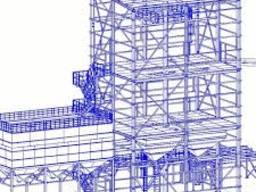 Чертежи КМД. Проектирование металлоконструкций