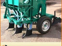 Чесночная сажалка для трактора. Сеялка для посадки