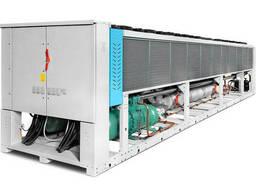 Чиллер на винтовых компрессорах 1498 кВт, Италия