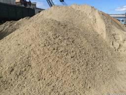 Чистий річковий пісок з доставкою по Обухівському району!!!