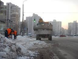 Чистка льда уборка Киев