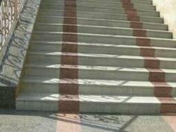 Чистка лестницы из мрамора ступени гранитные реставрация - фото 2