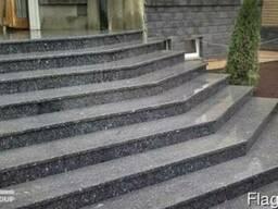 Чистка лестницы из мрамора ступени гранитные реставрация - фото 3
