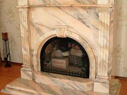 Чистка лестницы из мрамора ступени гранитные реставрация - фото 6