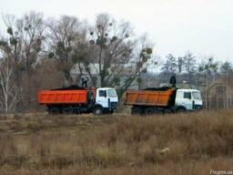 Услуги грузовых машин Украинка для вывоза мусора демонтажа
