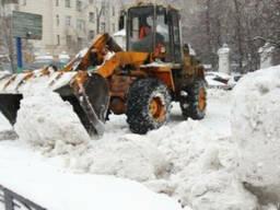 Чистка снега. Уборка и вывоз снега.