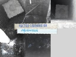 Чистка старых сливных ям, углубление ям строительство ремонт септиков
