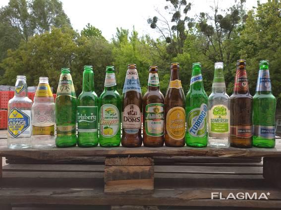Чисту пивну пляшку, склотару / бутылки б/у