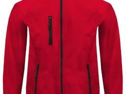 """Чоловіча куртка """"Червона"""" на замок-блискавку"""