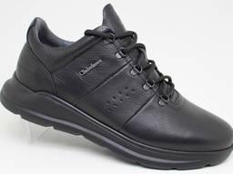 Чоловічі шкіряні кросівки Clubshoes 19 43 чорні