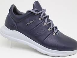 Чоловічі шкіряні кросівки Clubshoes 19/43 сині