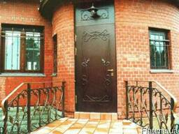 ЧП Alexcovka изготовит под заказ входные бронированные двери