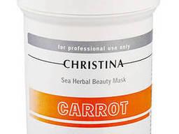 Christina Sea Herbal Beauty Mask Carrot Морковная маска для сухой, раздраженной. ..