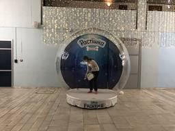 Чудо-шар снежный шар фотозона